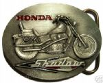 HONDA MOTORCYCLE BELT BUCKLES